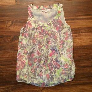 Floral patterned Loft blouse.