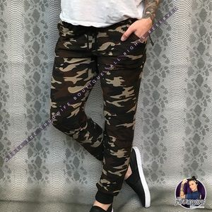 Butter Soft Camo Boutique Joggers NWT