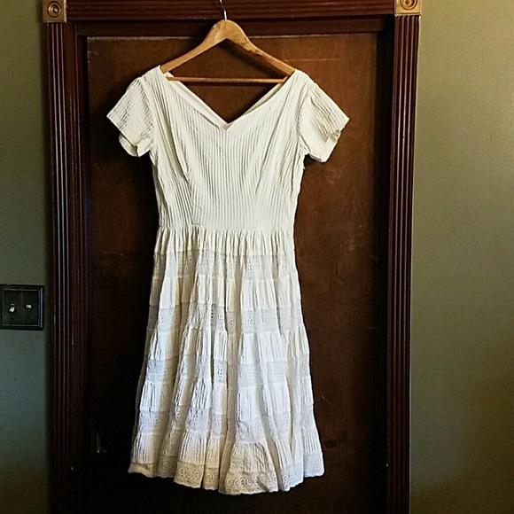 MEXICAN Dresses | Vintage Boho Chic Wedding Dress 78 | Poshmark