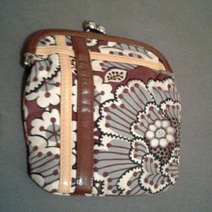 Vera Bradley Bags - Vera Bradley frill wallet coin purse pouch