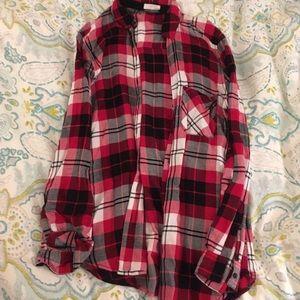 Garage Tops - Thin flannel shirt
