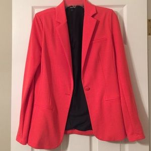 Coral Blazer- so soft & stretchy!