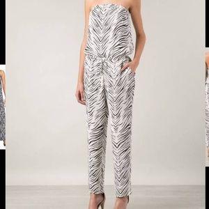 Haute Hippie Pants - Haute Hippie silk jumpsuit Sz medium nwt
