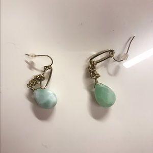 Brand new jade Stud Earrings