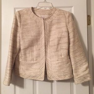 Banana Republic -Cream, Sparkle Blazer