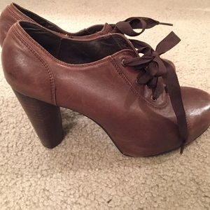 Jeffrey Campbell Shoes - Jeffrey Campbell Vintage ribbon booties w/defect