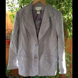 Women's Wool Blazer Size 12 Winter Sale Large