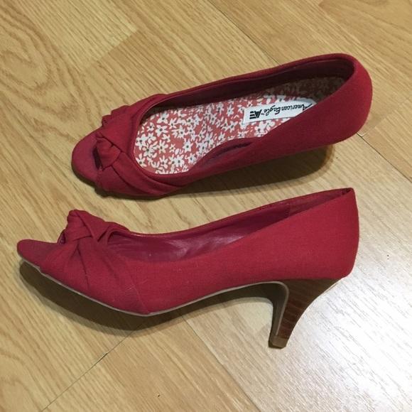Red 2 Inch Heels