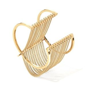 Jenny Bird Jewelry - Jenny Bird Gold Fallingwater Cuff. / Free Shipping