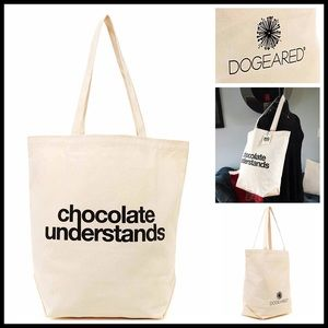 Dogeared Handbags - ❗1-HOUR SALE❗DOGEARED Canvas Tote Travel Bag
