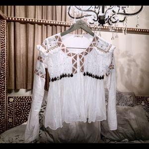Mes Demoiselles Jackets & Blazers - Free People Mes Demoiselles Adelia Soft Jacket