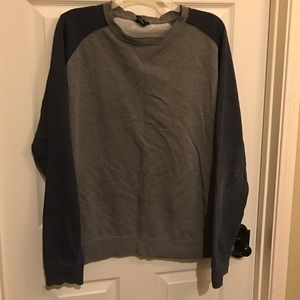 Tilly's Other - Men's Grey and Blue pullover crew neck