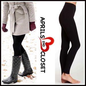 ICON Pants - ❗1-HOUR SALE❗Fleece Lined Black Leggings Pants