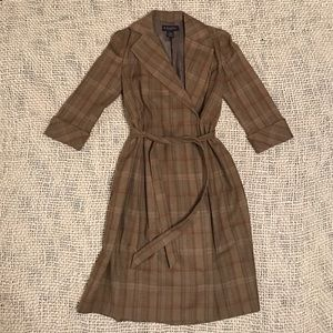 Brooks Brothers Jackets & Blazers - Brooks Brothers trench wool/cashm size 2 *FIRM*