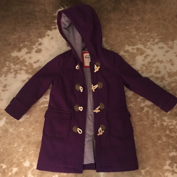 208c1b88ef07 Girls Mini Boden Duffle Toggle Wool Dress Coat 5-6.  M 586daa1836d594fcd8010091