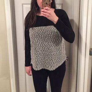 Sweaters - Colorblock Sweater