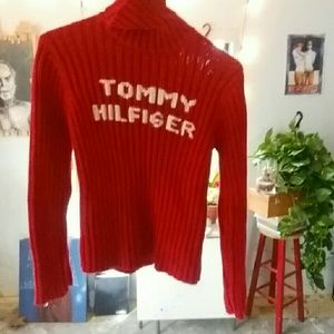 Vintage Tommy Hilfiger turtleneck sweater M