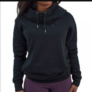Nike hooded quilted cowl neck sweater LOWEST!!!