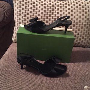 Kate Spade peep toe with bow on toe