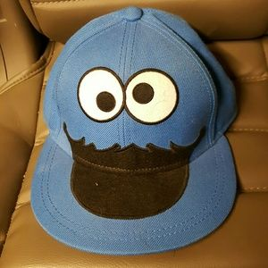 Cookie monster fited hat