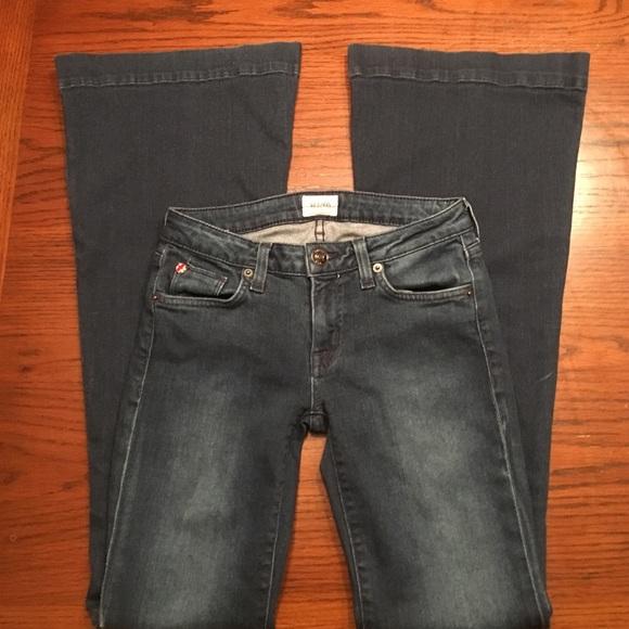 82% off Hudson Jeans Denim - Hudson Bell bottom jeans from ...