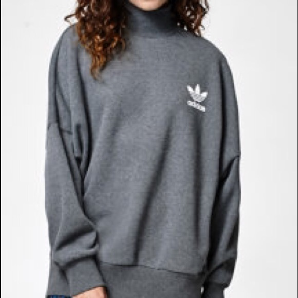 13% off Adidas Sweaters - Adidas High Neck/ Turtleneck Sweater ...
