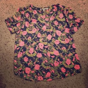 Collective Concepts Tops - Beautiful neon floral blouse 🌸🌺