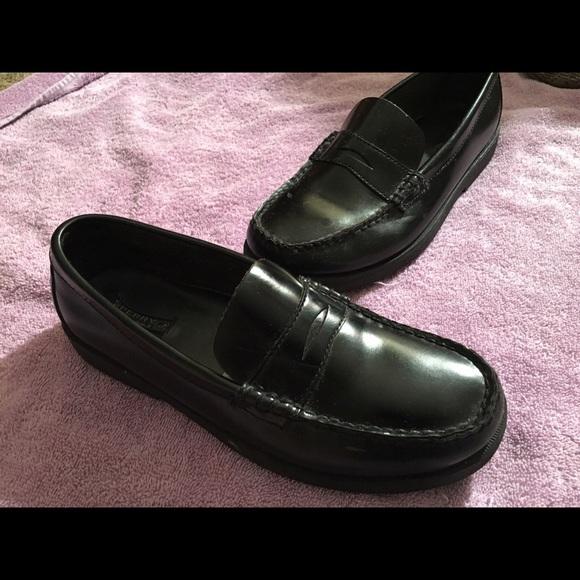 98ae91f0e9b Sperry sz 6 Black Penny Loafers. Women. M 586db53d2fd0b7eb31012ded