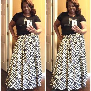 New! Full Maxi Skirt