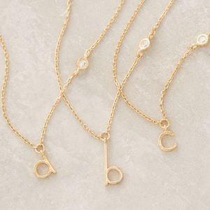Letter G monogram Necklace