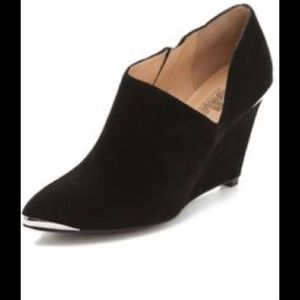 Sigerson Morrison Shoes - Belle by Sigerson Morrison Black Suede Booties!