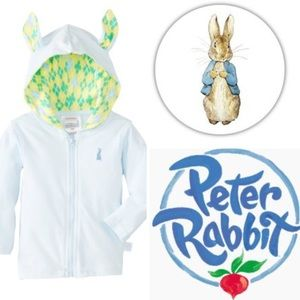 Nickelodeon Other - Baby Boy Peter Rabbit Hoodie With Ears