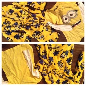 Minions top & robe 6T