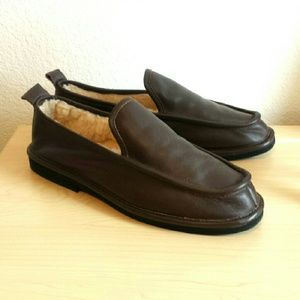 Mason Other - NWOT Men's Leather Slippers