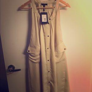 Belstaff Dresses & Skirts - Belstaff Merrill Gathered Neck Dress, Size 38