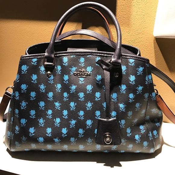 e29e380769d AUTHENTIC blue rose coach cross body purse. M_586dbed7620ff74712016e12