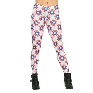 Mighty Fine Pants - 🎀REDUCED🎀Mighty Fine Marvel Cpt. America Legging