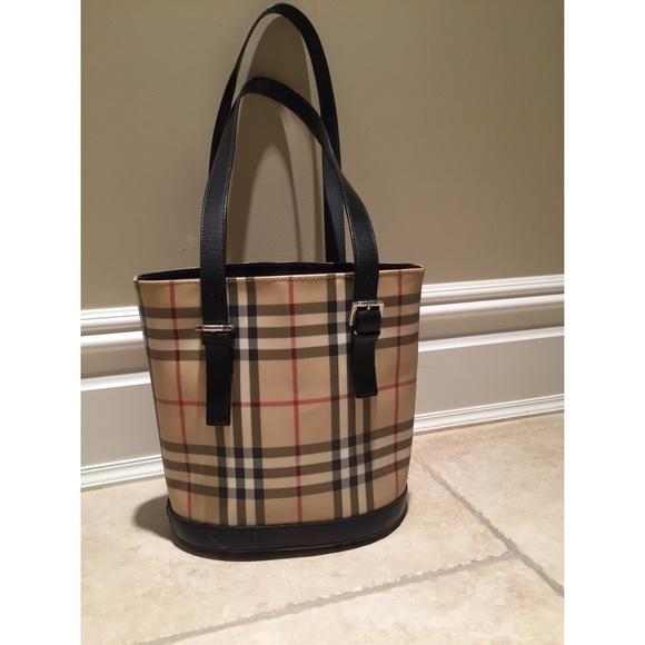 Burberry Handbags - Authentic Burberry Bucket Bag 15c1960fb42b4