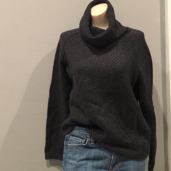 82% off Banana Republic Sweaters - Banana Republic Crop Cowl neck ...