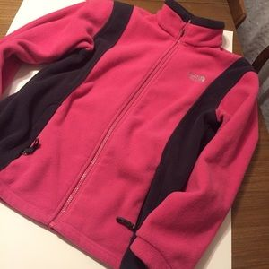 The Northface jacket fleece pink