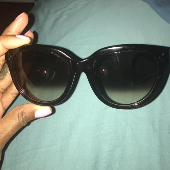 2e59ab723dc Celine Accessories - Brand New Tortoise Celine Audrey sunglasses