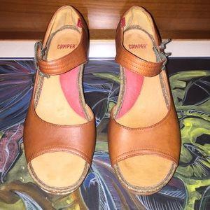 Camper Shoes - CAMPER Open Toe Heeled Shoe Sz 8
