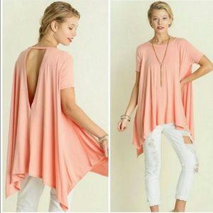 Tops - Blush pink trapeze shirt