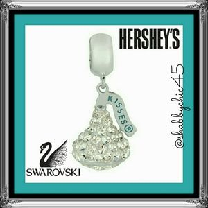 Hershey's Kiss Swarovski Charm- ONLY 2 LEFT