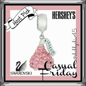 *HP* Hershey's Kiss Swarovski Charm- ONLY 1 LEFT