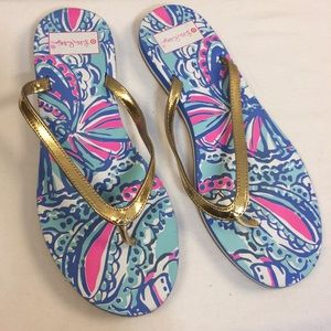 Lilly Pulitzer for Target Shoes - Lilly Pulitzer for Target flip flops