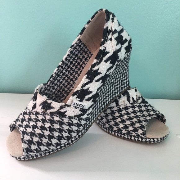 eb18dc18081 Toms Houndstooth Wedge. M 586dde92291a35449e01fbe7
