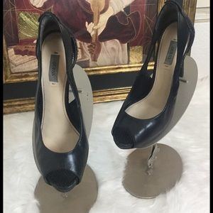 Guess Shoes - Guess Leather High Heel Shoes.  Sz 8.5
