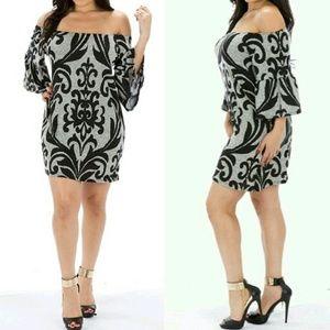 Blossom Dresses & Skirts - Tunic Off the Shoulder Dress