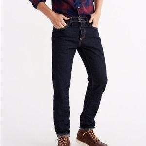 Abercrombie slim straight jeans